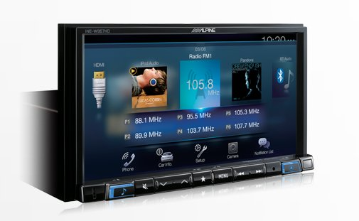 7-Inch Audio/Video/Navigation Receiver
